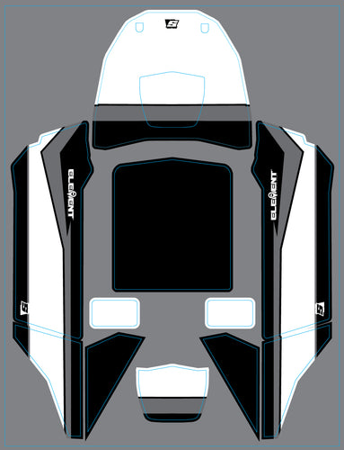 SOR Factory Racing Wraps for the Element RC Gatekeeper