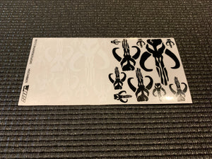 Mando Bounty Hunter 1/10 decal sheet