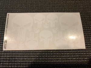 Punisher 1/10 decal sheet