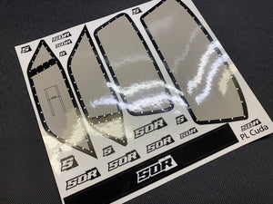 SOR Eliminator Window Decal Kit for the Proline 'Cuda