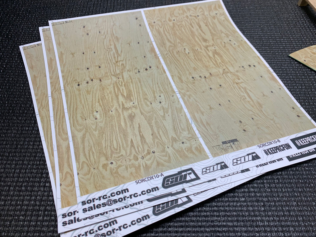 SOR 1/10 Scale Plywood Detail Kit