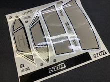 SOR Eliminator Window decals for the AE DR10