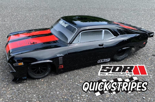 QuickStripes for Drag Race bodies