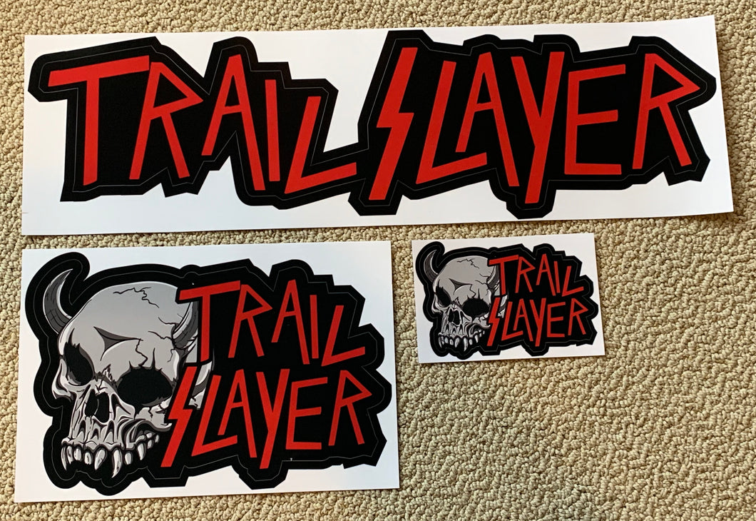 Big single Trail Slayer Sticker