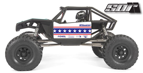 Patriot Wrap for the Axial Capra, Red white blue