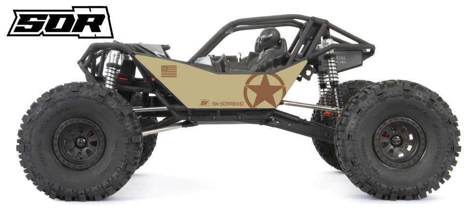 SOR BDU Series Graphics- Tan/Brown