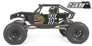 Flying Tiger wrap for the Axial Capra, Camo
