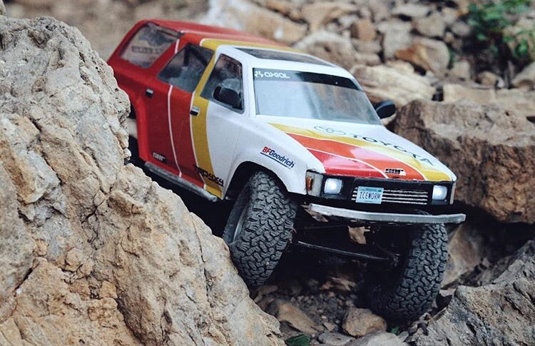 Ivan Series Graphics for Toyota Crawler bodies – SOR RC Products