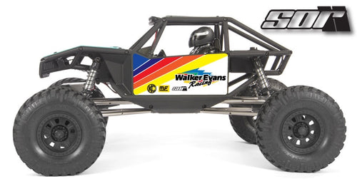 Official Walker Evans Racing wrap for the Axial Capra