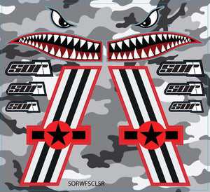 SOR WarFighter Decal Kit