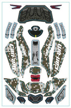 Axial Yeti Jr. Can Am Maverick replacement Decal Kit