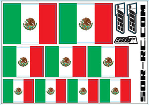 SOR Flag Decal Sheets