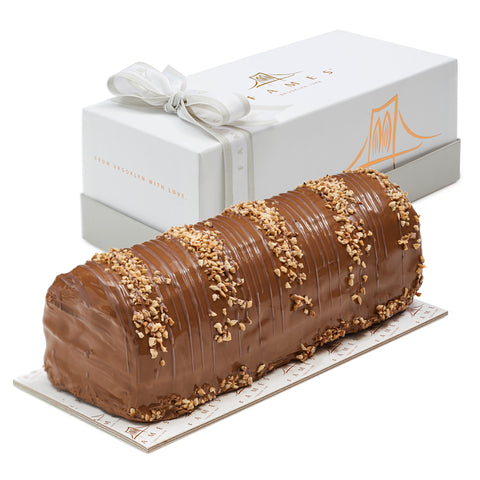 Milk Caramel Halva Log