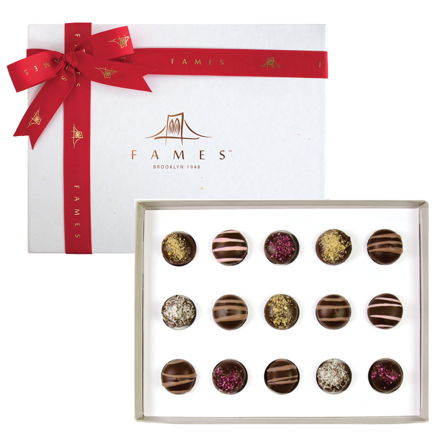 fFames Assortment Chocolate Gift Box