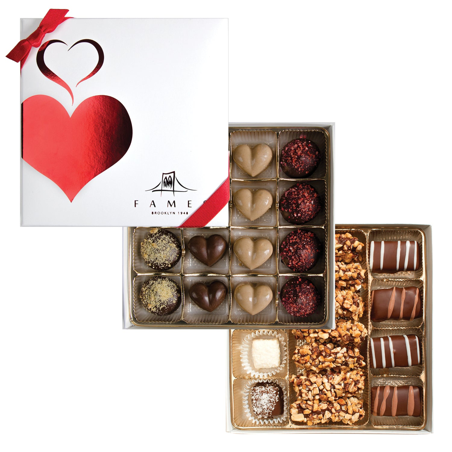 Valentine's day Chocolate Gift Box, 31 Pc