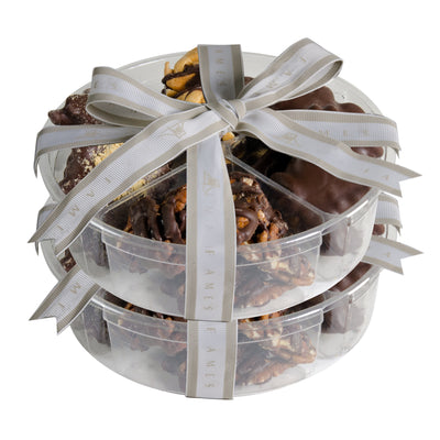 Chocolate Nuts Gift Set, Kosher Pareve (2 Lb)