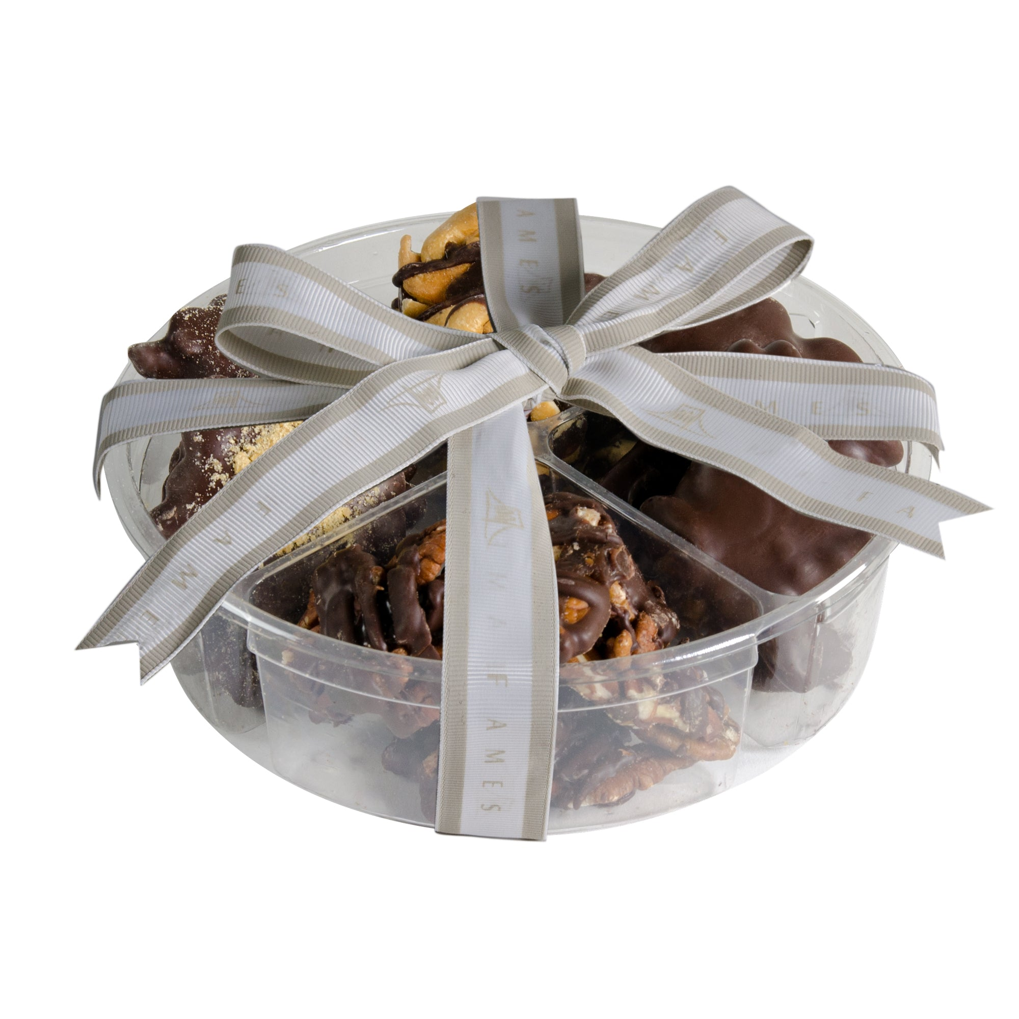 Nut Clusters Chocolate Assortment Box (1 pound)