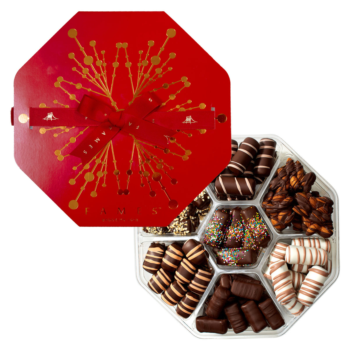 Holiday chocolate gift assortment