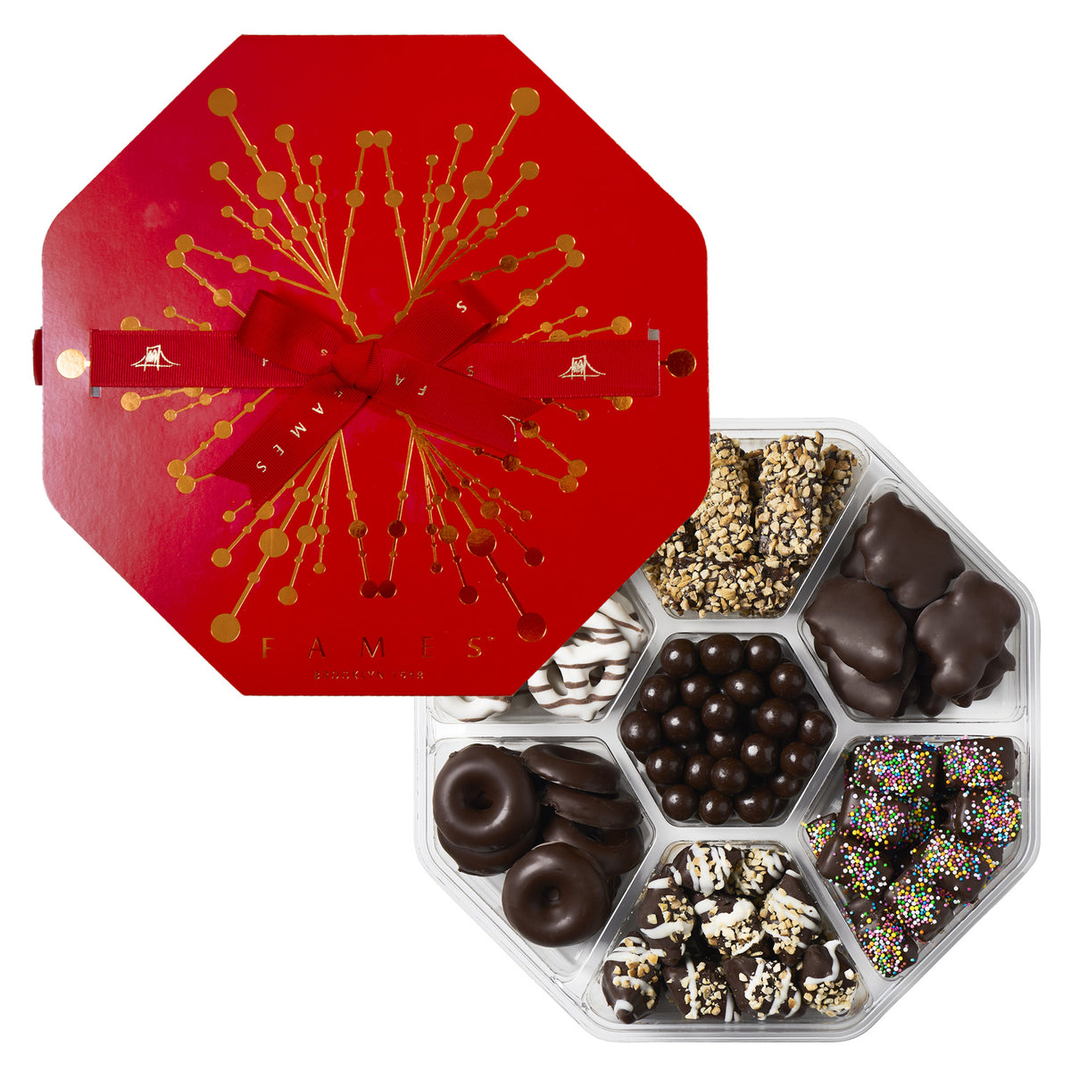 Seventh Heaven Chocolate Holiday Gift Assortment