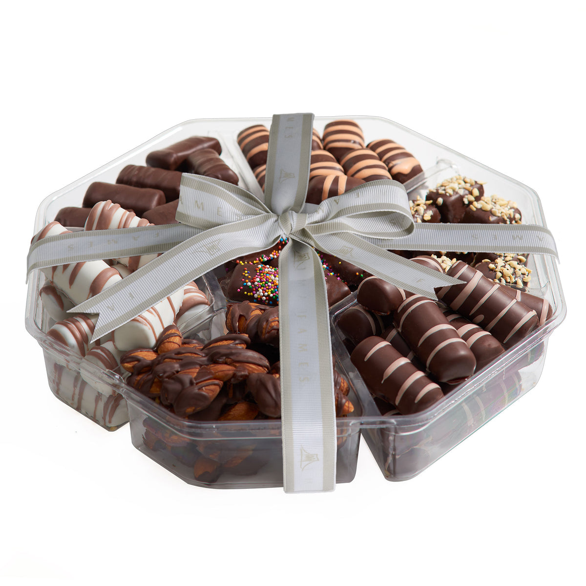 Chocolate Gift Baskets For Families - 3 Pack, Dairy Free, Kosher.