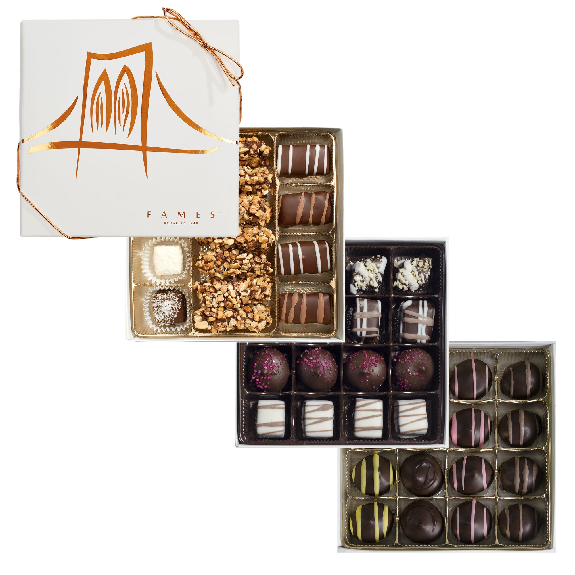Gourmet Chocolate Gift Box, 47 pc.