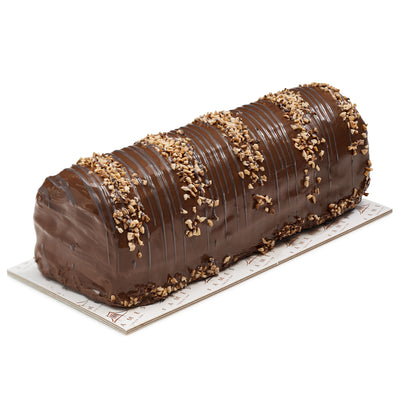Fames Zebra Halva Dark Chocolate Log – Handcrafted With Deluxe Gift Box