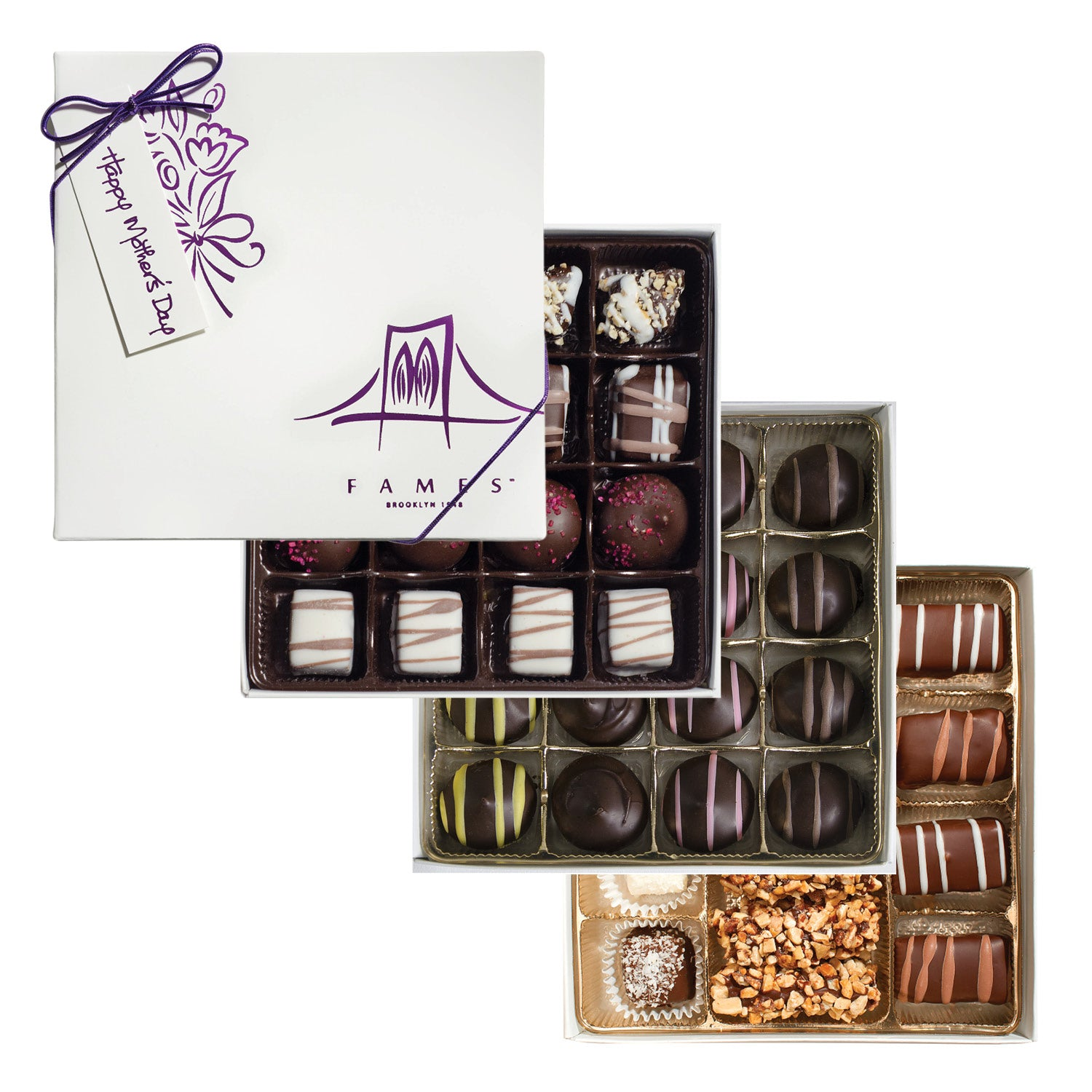 Chocolate gift set mothers day