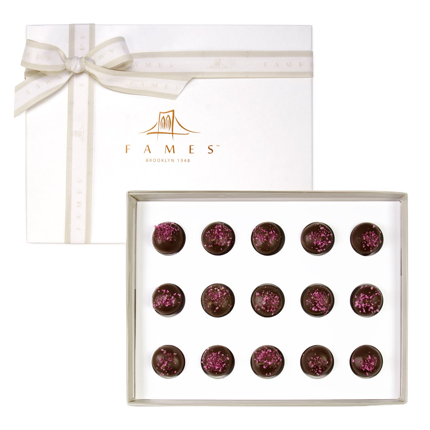 Berry Swirl Chocolate Gift Box