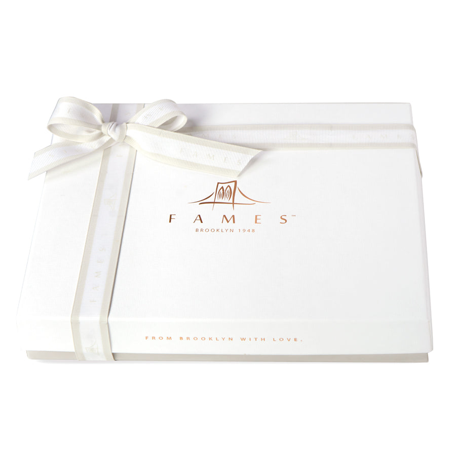 Fames Luxury Chocolate Gift Box, Kosher, Dairy Free.