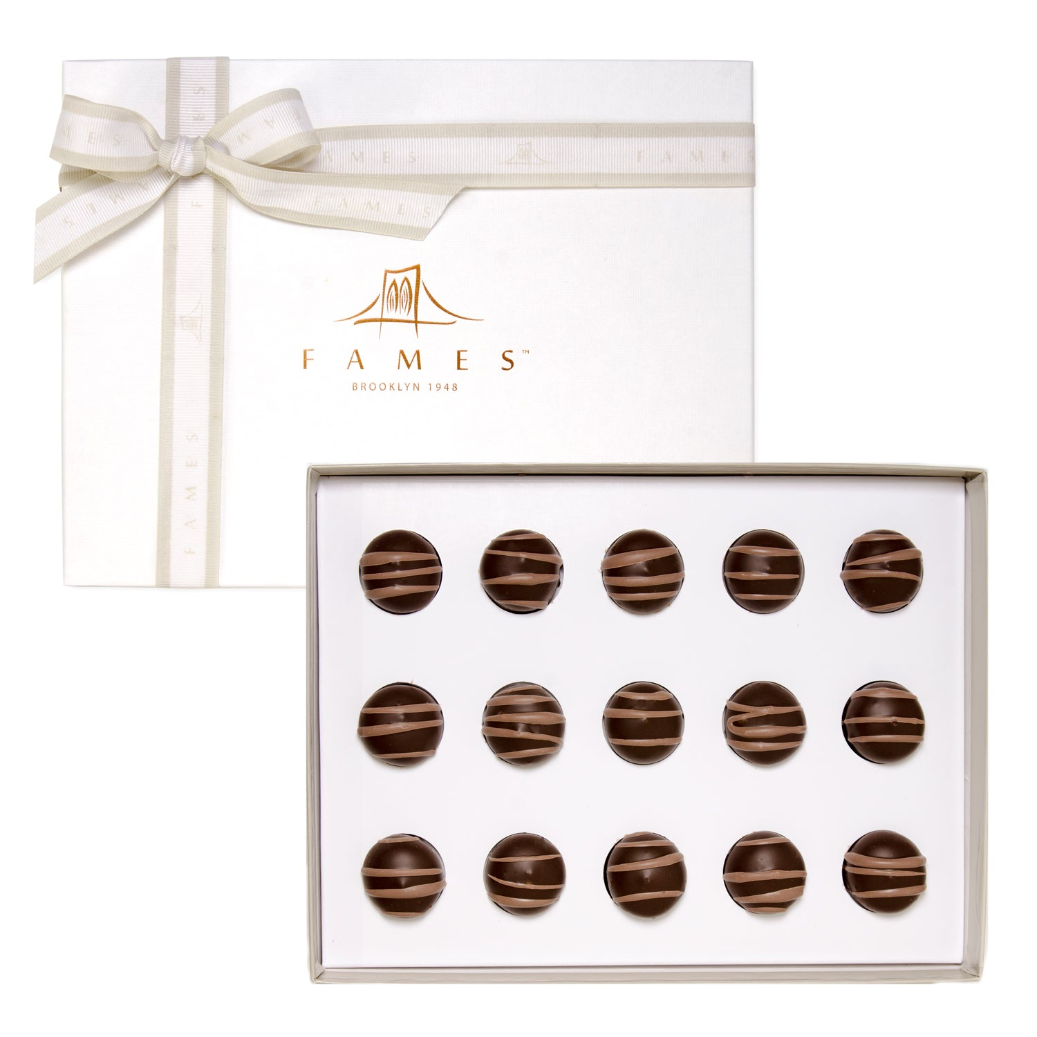 Hazelnut Truffle Chocolate Gift Box