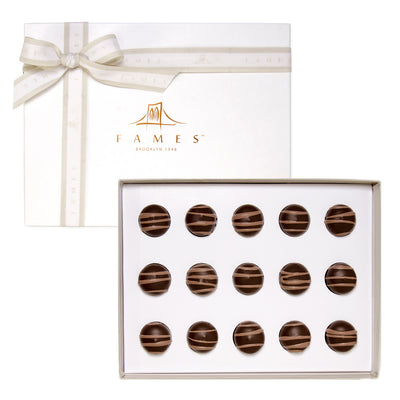 Hazelnut Truffle Chocolate Gift Box, Kosher, Dairy Free.