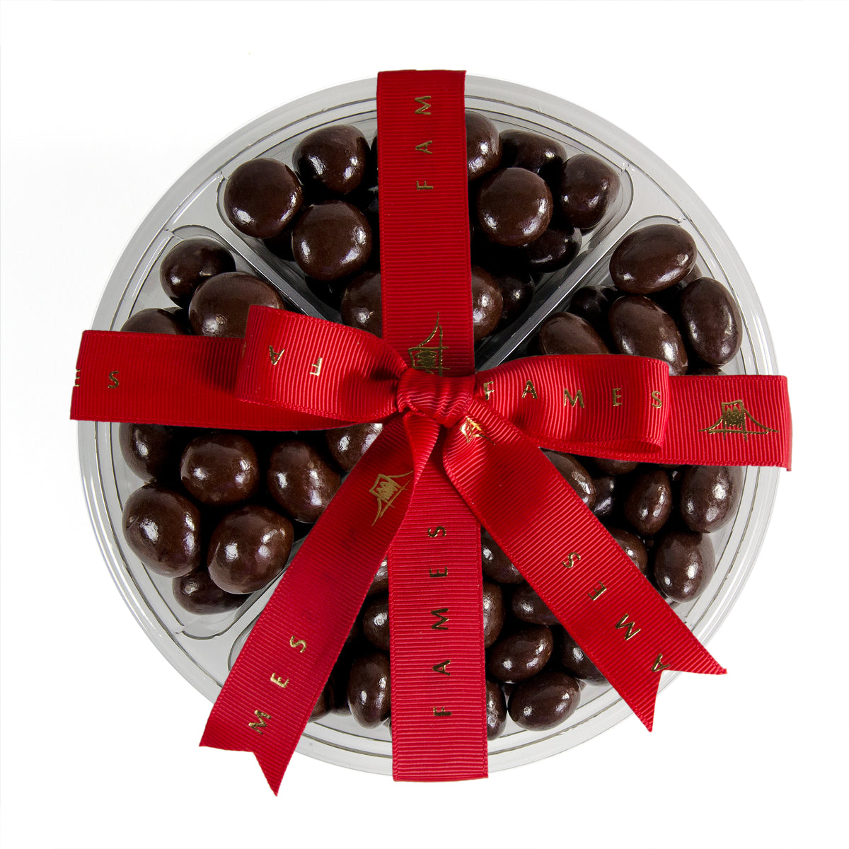 Four Sectional Chocolate Covered Mix