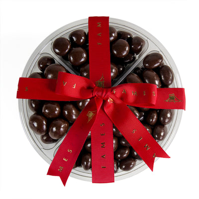 Four Sectional Chocolate Covered Mix, 1Lb