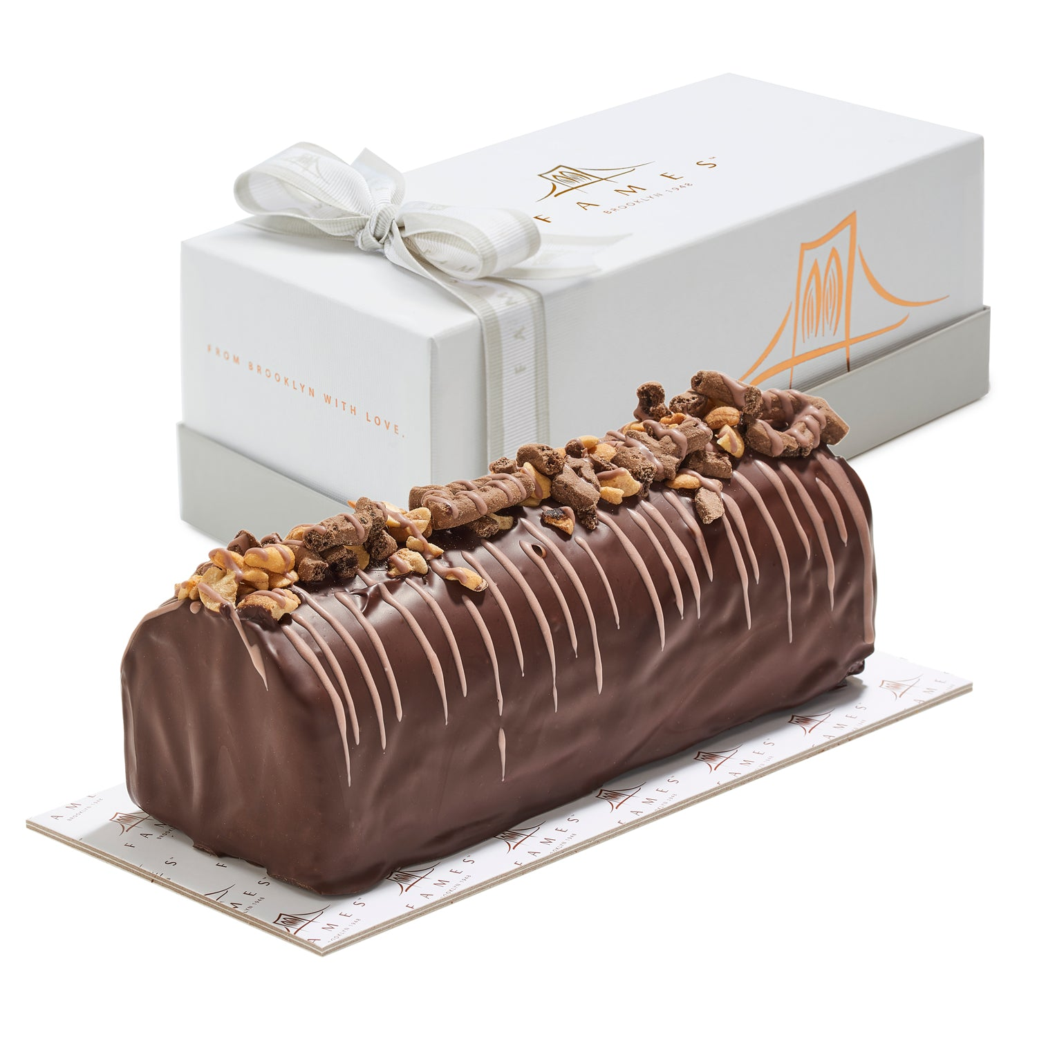 Chocolate Soft Blend Log In Gift Box