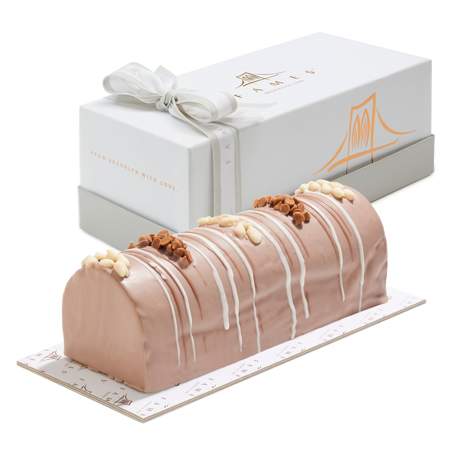 Coffee Fudge Log In Gift Box