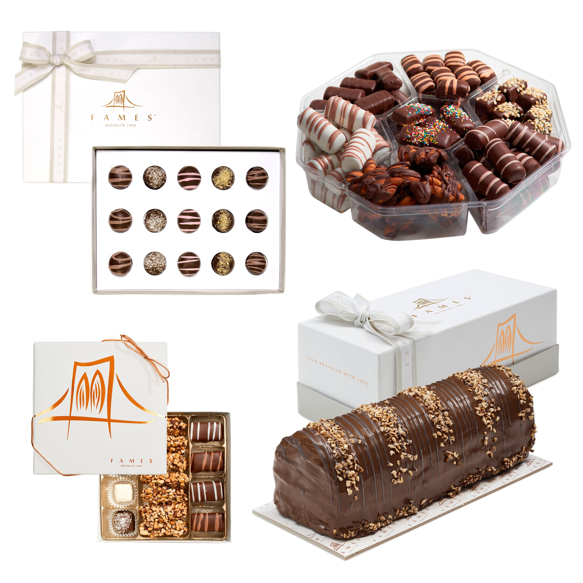 Holiday Chocolate Gift Set -