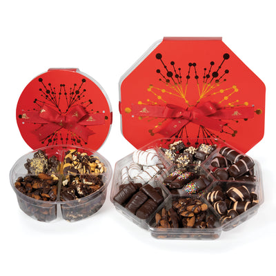 Gourmet Holiday Corporate Chocolates in Elegant Box