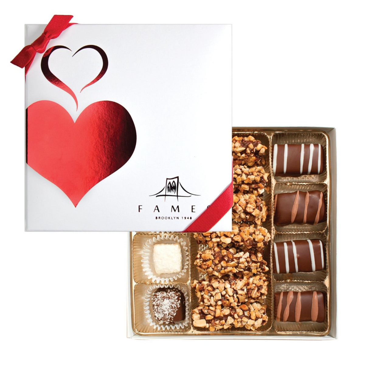 Fancy holiday chocolate gift box