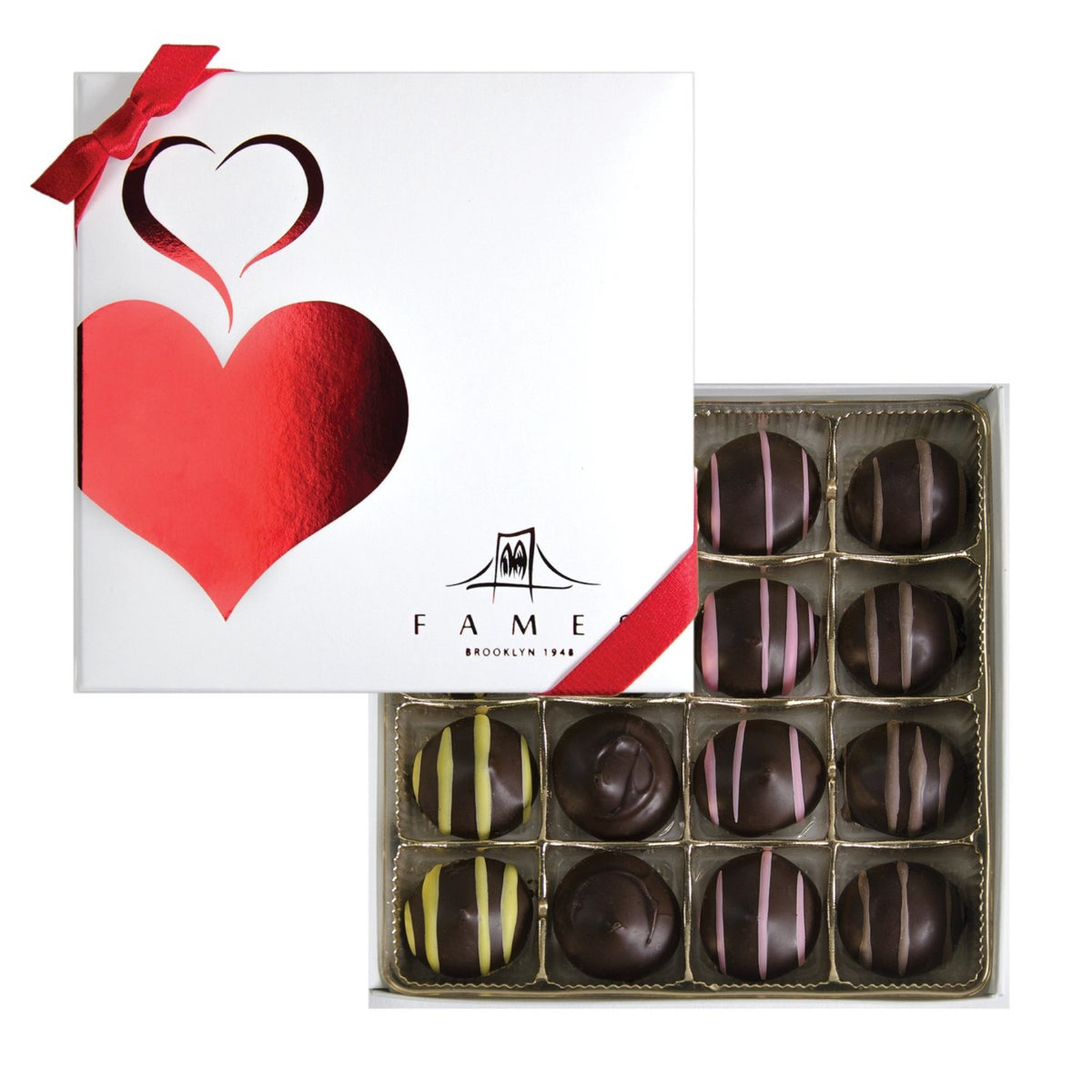 Small Chocolate Gift Box -16 Count, Kosher, Dairy Free.