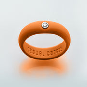 Burnt Orange Silicone Band