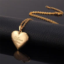 "Load image into Gallery viewer, ""I Love You"" Heart Locket"