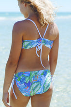 Chica Girls Two Piece Bikini in Lush Garden Print