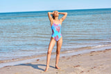 womens one piece compression swimsuit