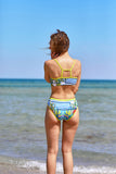 Star Struck Women's Two Piece Bikini in Canary Print