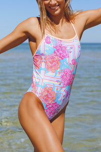 2018 Somersault One Piece - Peony Candy