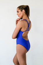Freestyle Women's One Piece Swimsuit in Colour Royal Blue