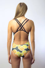 Freestyle Women's One Piece Swimsuit in Colour Lemon + Lime