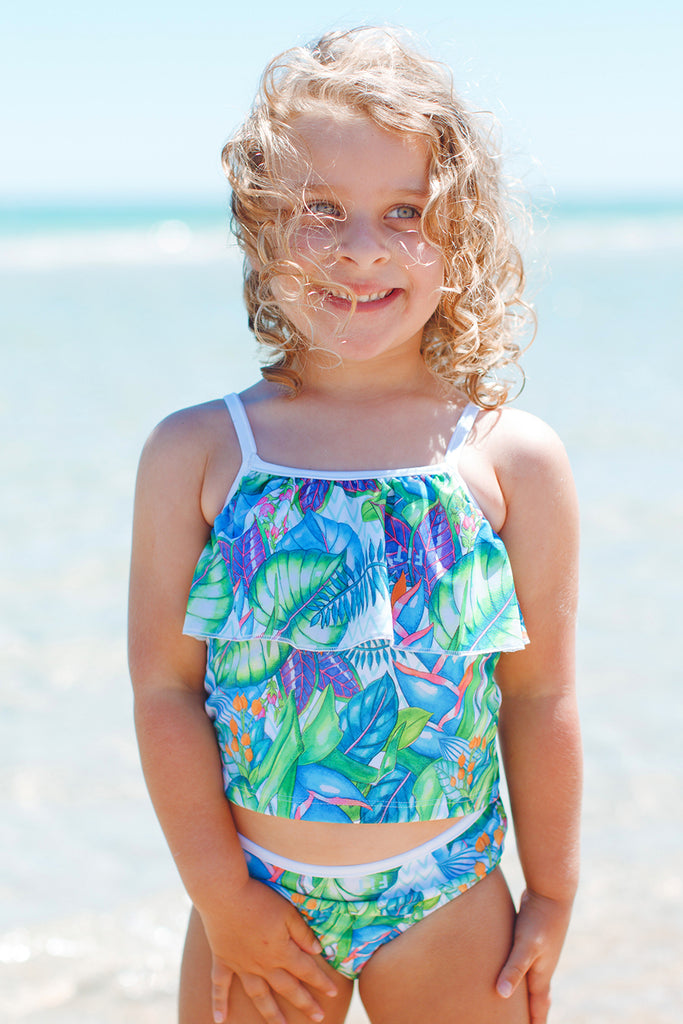 kids two piece swimsuit