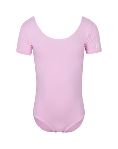 Chloe short sleeved  ballet leotard