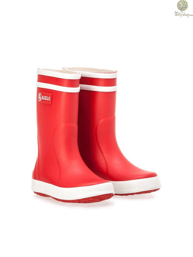 Aigle CHILDREN'S FUR-LINED RUBBER BOOTS: LOLLY POP